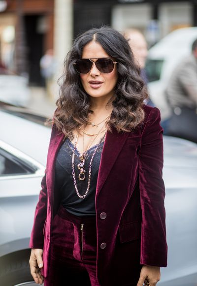 Salma Hayek  at Stella McCartney Spring/Summer'18