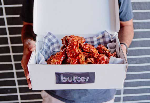 When food and fashion collide: Sneakers, fried chicken and Champagne at Sydney eatery