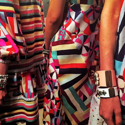 <p>The Cruise 2015/16 accessories are ready for their close-up.</p>