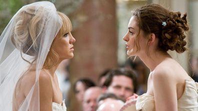 Bride Wars movie scene two brides