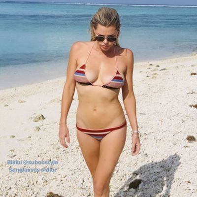Sophie Monk is still in paradise