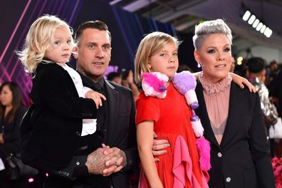 Carey Hart, Pink, Jameson and Willow