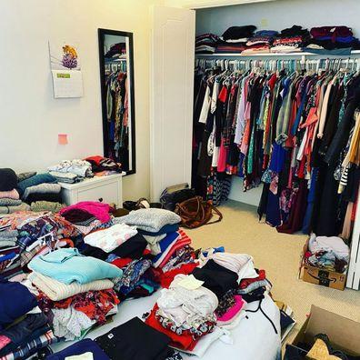 Jessica Brathwaite's community closet trick