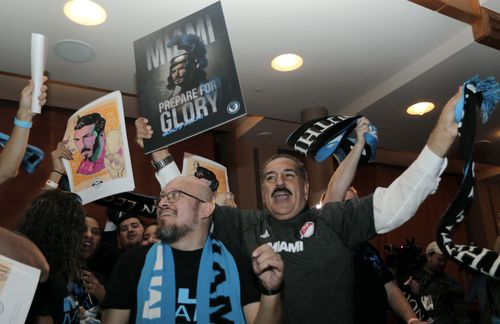 News of the team has delighted soccer fans in Miami. (AAP)