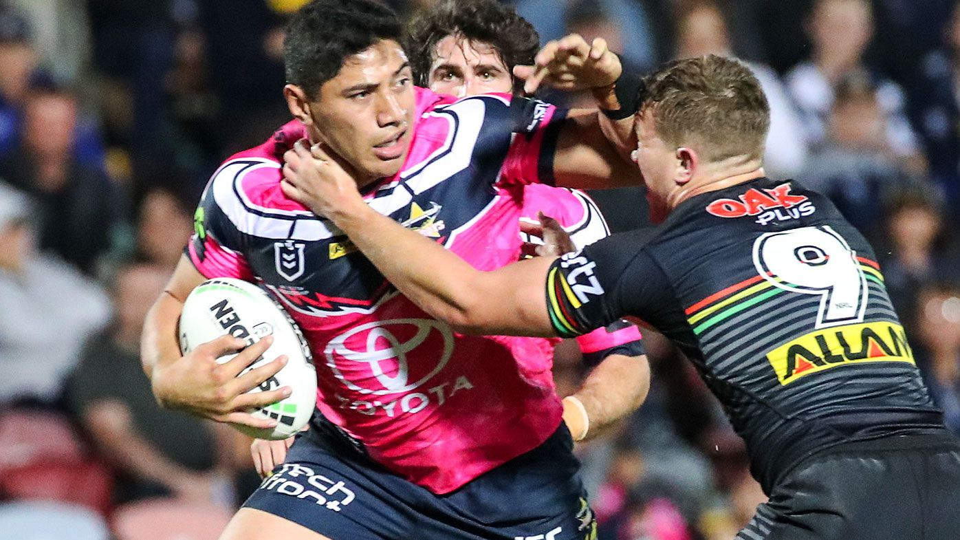 NRL: Cowboys put massive dent in Panthers' finals hopes in emotional Townsville win