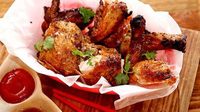 "<p><strong>Recipe:&nbsp;<a href=""http://kitchen.nine.com.au/2016/05/05/11/13/saigon-sallys-bia-can-chicken"" target=""_top"" draggable=""false"">Saigon Sally's bia can chicken</a></strong></p> <p> Try these worthy beer recipes at home, or over the weekend - starting with Recipe:&nbsp;<a href=""http://kitchen.nine.com.au/2016/05/05/11/13/saigon-sallys-bia-can-chicken"" target=""_top"" draggable=""false"">Saigon Sally's bia can chicken</a></p>"