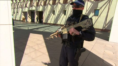 As one of the most complex buildings in Australia and as likely target for terror attacks, security at Parliament House is deadly serious.