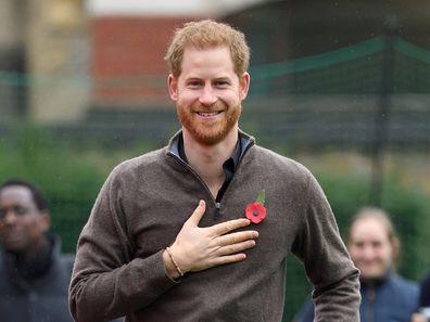 Prince Harry coronavirus