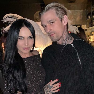 Aaron Carter and Lina Valentina