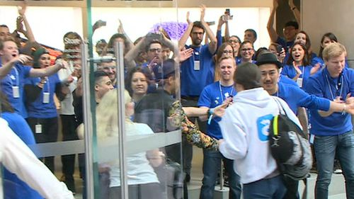 Sydney was the first city in the world to get the iPhone 6. (9NEWS)