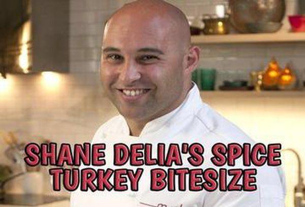 Shane Delia's Spice Turkey Bitesize