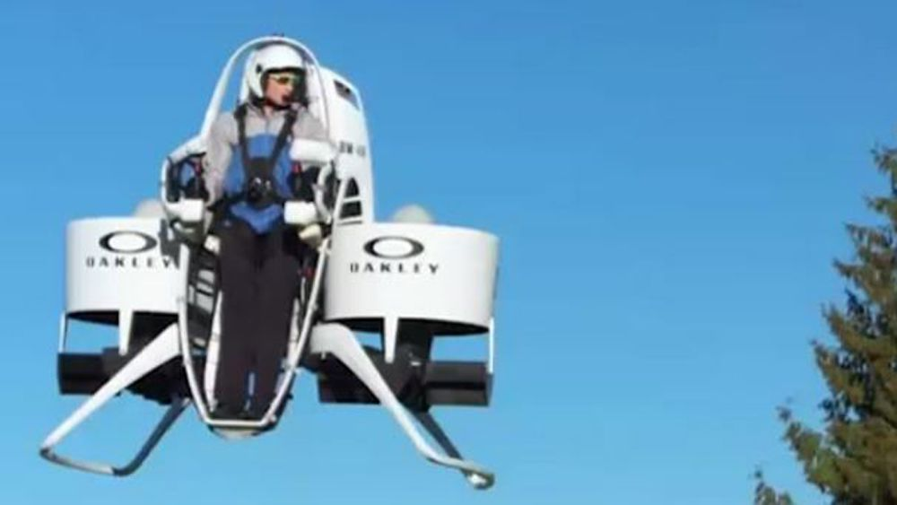 Bubba Watson spices things up with jetpack