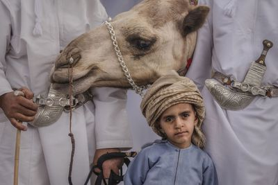 <strong>The Bedouin Boy</strong>