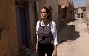 Angelina Jolie tours war-torn Mosul: 'The worst devastation I have seen'