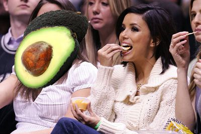 """Eva says, """"I'm a guacamole girl. Growing up in a Mexican family, we even served it for breakfast.""""<br/><br/><a href=""""http://celebrities.ninemsn.com.au/blog.aspx?blogentryid=948258&showcomments=true"""" target=""""new"""">CLICK HERE FOR THE RECIPE</A><br/>"""
