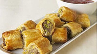 <strong>Sausage rolls</strong>