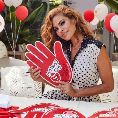 Eva Mendes, McDonald's, McHappy Day ambassador 2020, interview