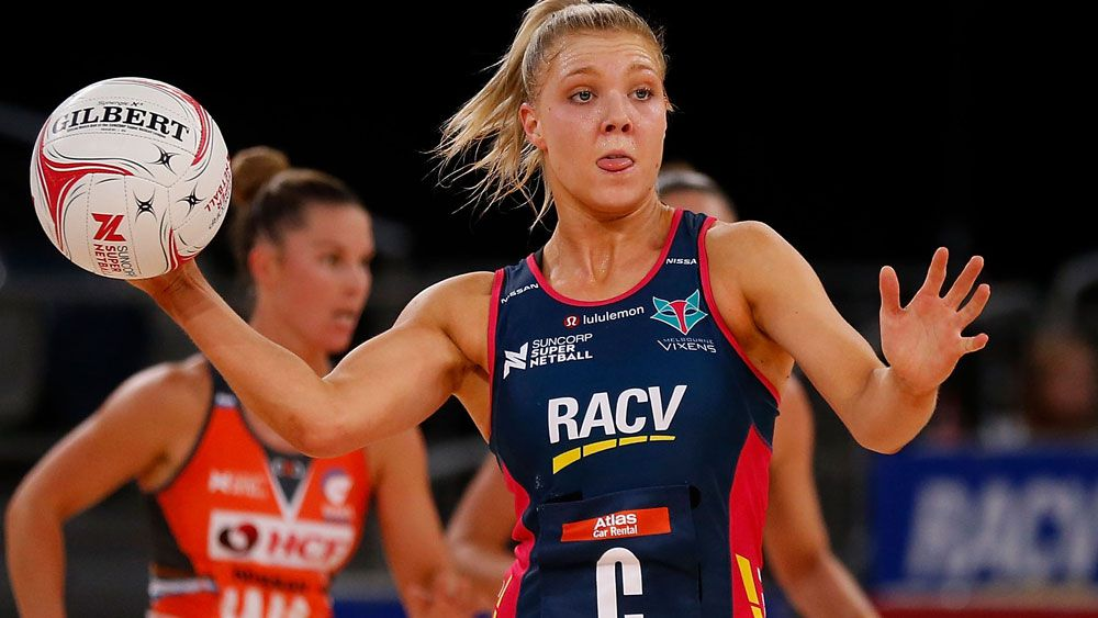 Melbourne Vixens beat table-topping Netball Giants in Suncorp Super Netball