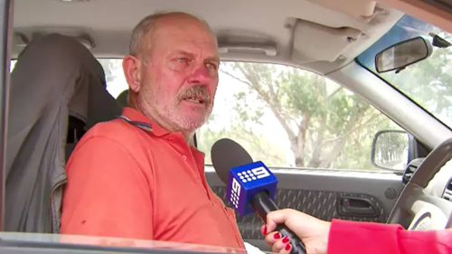 The accused's father, Mirko Strucelj, spoke to 9NEWS.