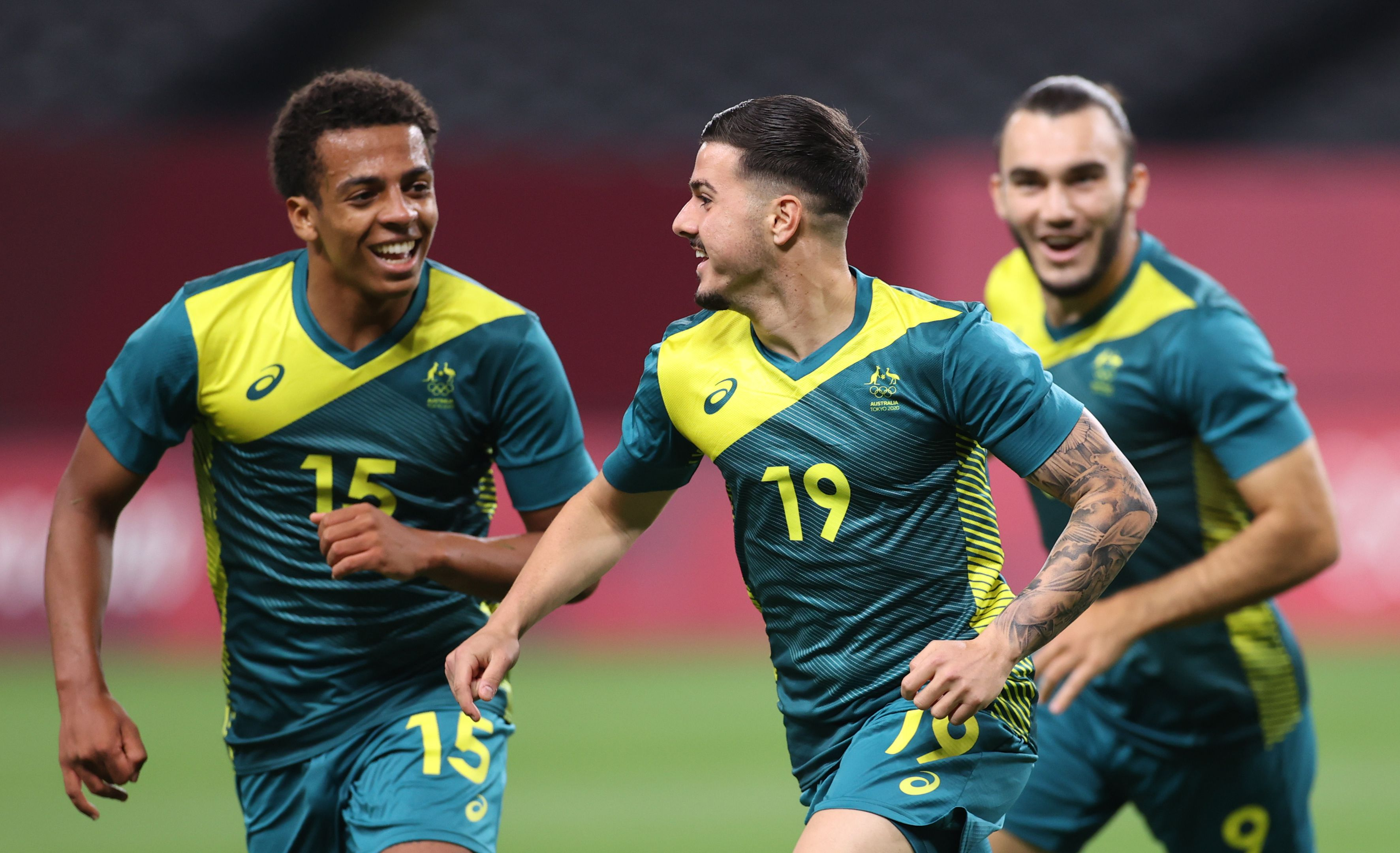 Olyroos stun Argentina 2-0 to kick off Tokyo Olympics campaign
