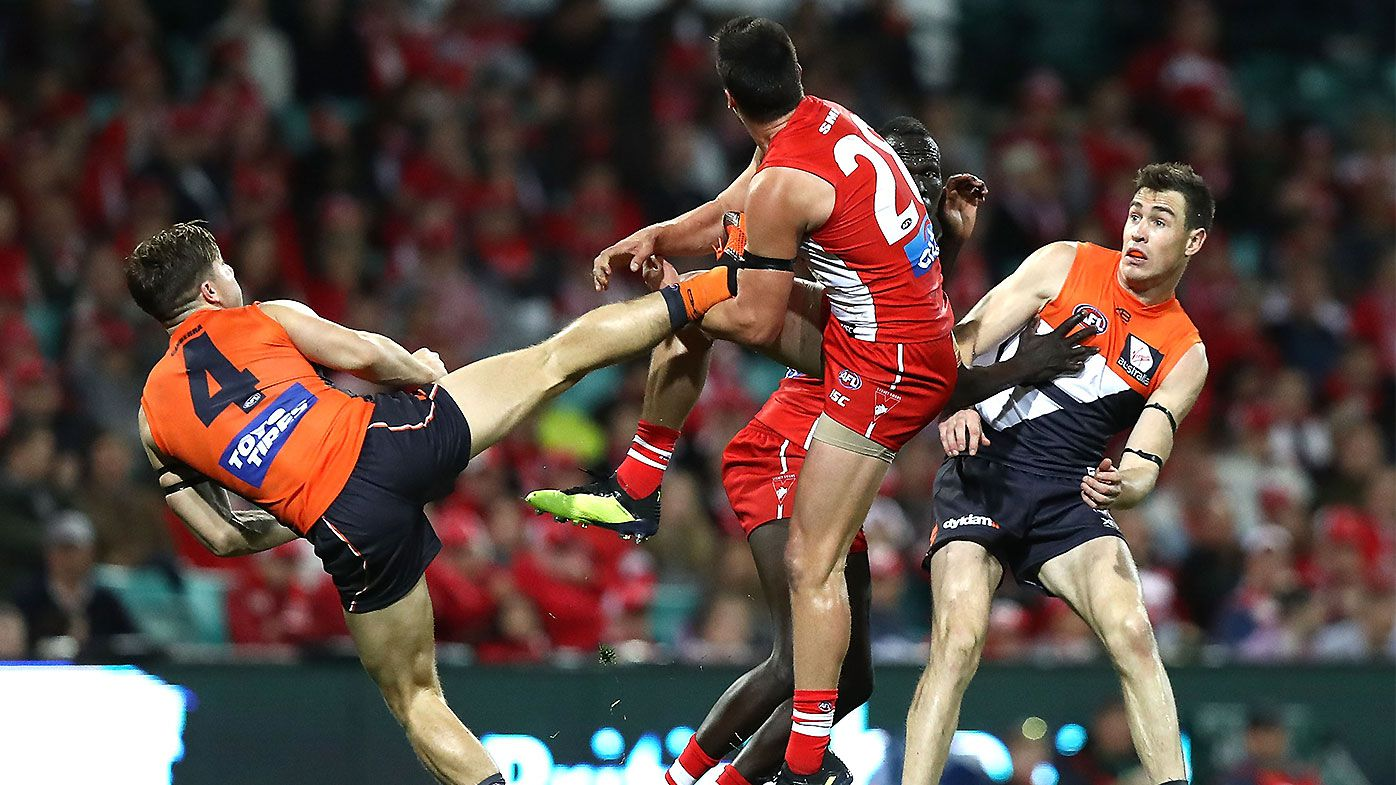 AFL cracks down on bumps, niggles, studs with rule changes