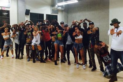 @fergie: Flashback 2 our first #LALOVE #danceaudition leading up 2 today. Stay tuned...
