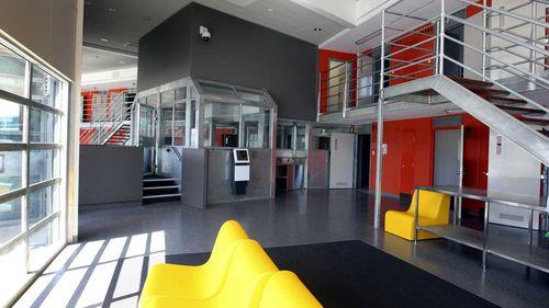 Inside the South Coast Correctional Centre.