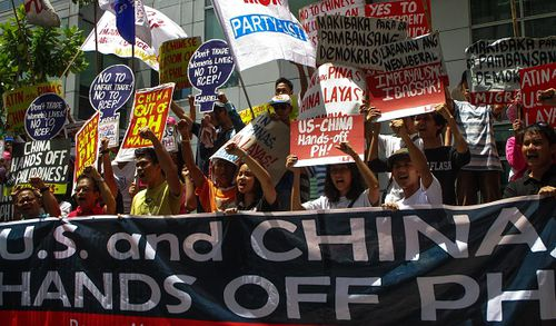Neighbours such as the Philippines have disputed China's claim to the South China Sea. (AP).