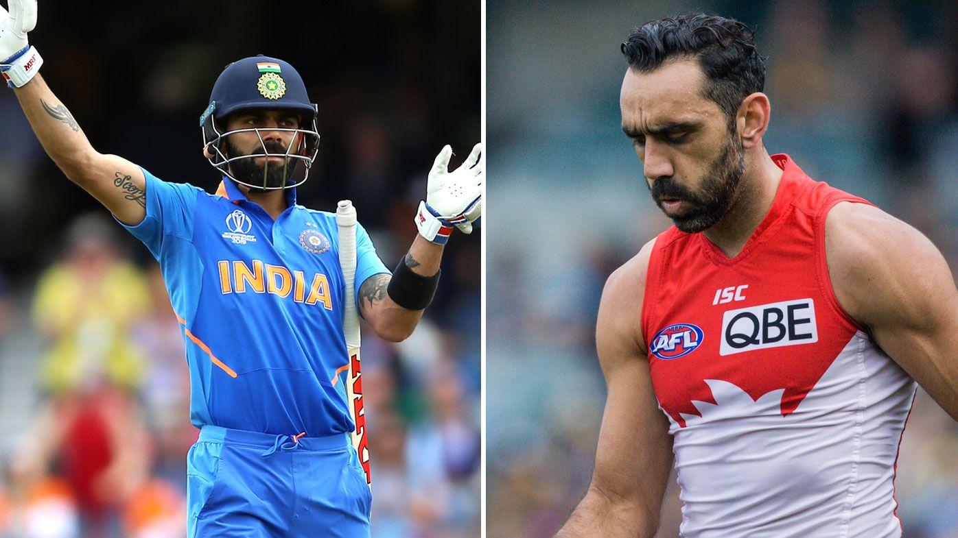 How Virat Kohli's Steve Smith booing reaction shows where Adam Goodes saga went wrong