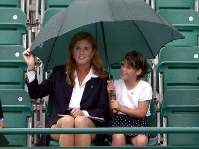Princess Eugenie and Sarah, Duchess of York