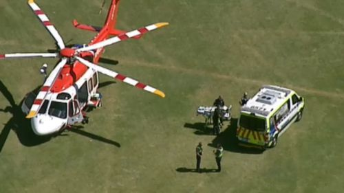 Woman pulled from the water at Victorian beach