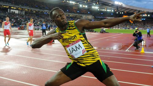 Usain Bolt helps Jamaica win new Games record in 4x100m relay