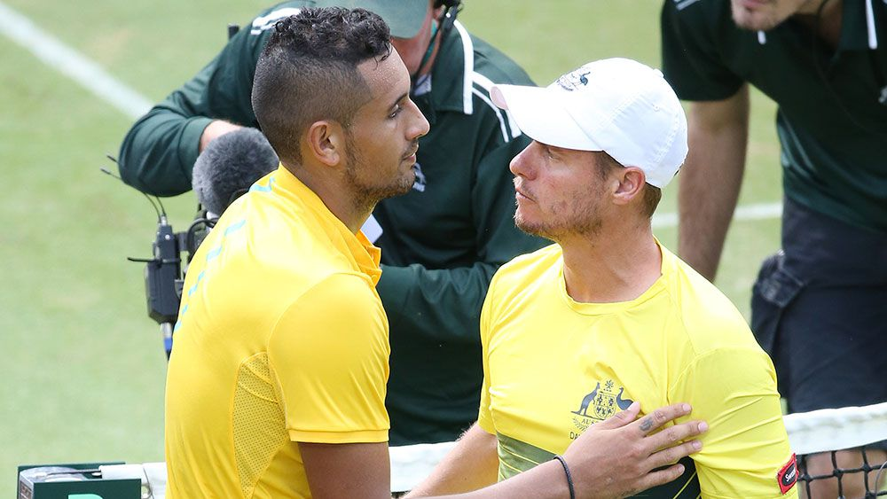 Lleyton Hewitt, Nick Kyrgios fire up after suggestions Serena Williams could beat Kyrgios