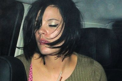 Like her fellow Brit bad girl cohort, Amy Winehouse, Lily Allen was never one to hesitate when it came to declaring her naughty intentions through the medium of song. Similarly, her public behaviour has been almost as 'eccentric' as Wino's at times.