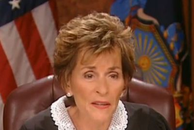"""<b>Judge Judy Pearl of Wisdom:</b> """"Don't try to teach a pig to sing. It doesn't work, and it annoys the pig."""""""