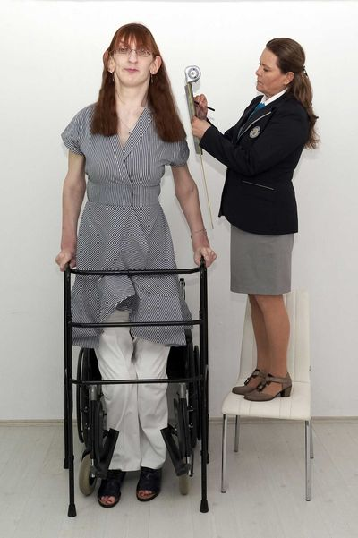 The world's tallest woman