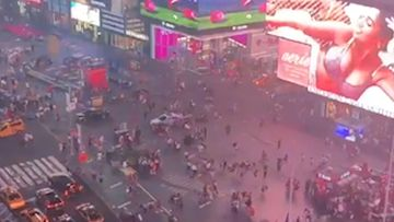 Times Square in New York has seen a shooting scare.