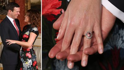 Princess Eugenie's engagement ring