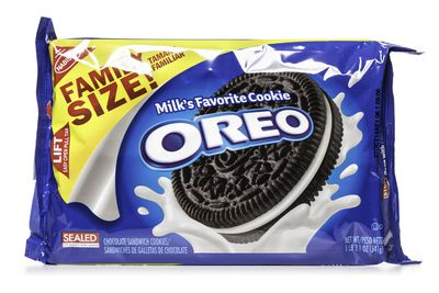 Oreo Original: 3.7g sugar per biscuit