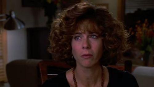Rita Wilson as Suzy in Sleepless in Seattle, alongside her husband. (Supplied)