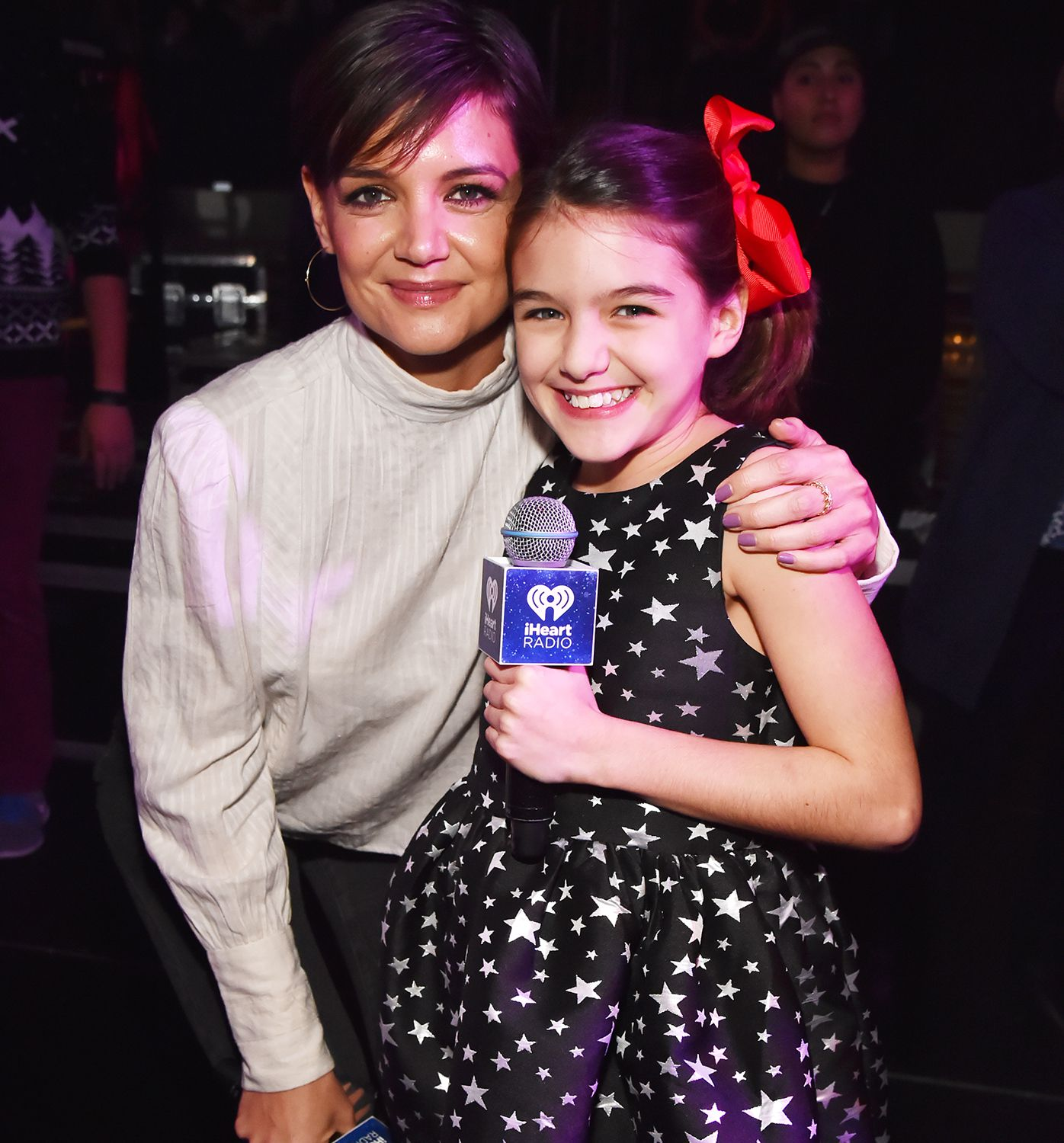 Katie Holmes and Daughter Suri Cruise Introduce Taylor Swift at Jingle Ball
