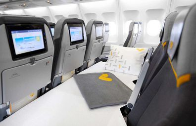 Thomas Cook lie-flat sleeper seats