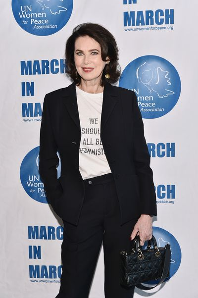 <p>Canadian model Dayle Haddon is the 68-year-old face of anti-aging for L'Oreal.</p> <p>&nbsp;</p>
