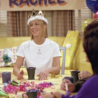 Rachel's birthday party in Friends