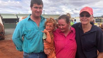 3-year-old found after 24 hours missing in the Pilbara
