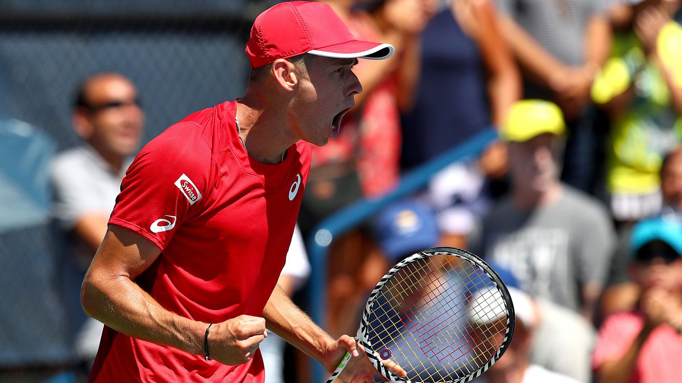 Aussies Alex de Minaur, Alexei Popyrin storm into US Open third round