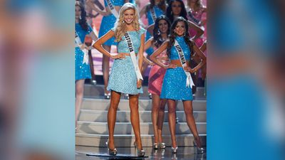 <br>Australia's Tegan Martin has been eliminated from the Miss Universe competition after scraping into the semi finals today.<br>  <br>Miss Colombia, Pauline Vega, took the coveted Miss Universe 2014 title. <br> <br>Miss Vega is studying business administration in Bogota, Colombia and is the granddaughter of legendary tenor Gaston Vega. <br>  <br>Miss Martin's name was the last one called in the eliminations prior to the semi finals.<br> <br>She made it to the top 10 before being eliminated.<br> <br>The countries still in the running for the title are: USA, Colombia, Ukraine, the Netherlands and Jamaica.<br>  <br>The last Australian to take the crown was Jennifer Hawkins in 2004.<br>