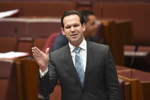 Resources Minister Matt Canavan's office has come under the spotlight today. (AAP)