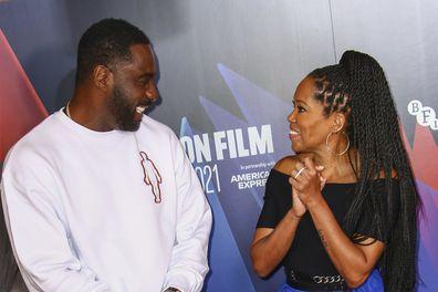 Idris Elba (left) and Regina King (right)