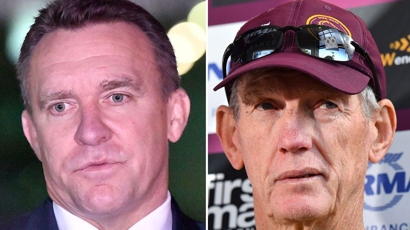 Wayne Bennett no longer on speaking terms with Broncos CEO Paul White